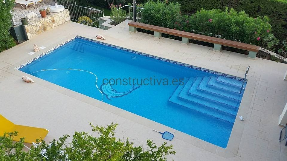 CONSTRUCTION PISCINES ROSES EMPURIABRAVA L'ESCALA COSTA BRAVA